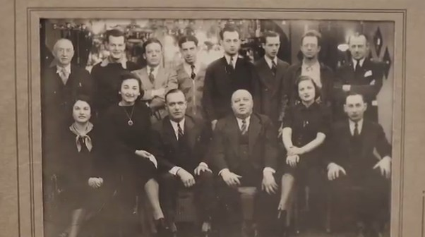 Old photograph of Kovalsky and Carr families